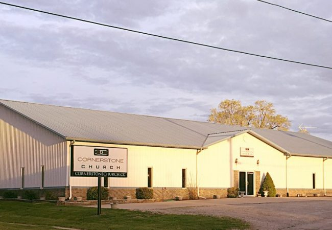 Cornerstone Church - Cameron is located at 317 N. Locust Street.
