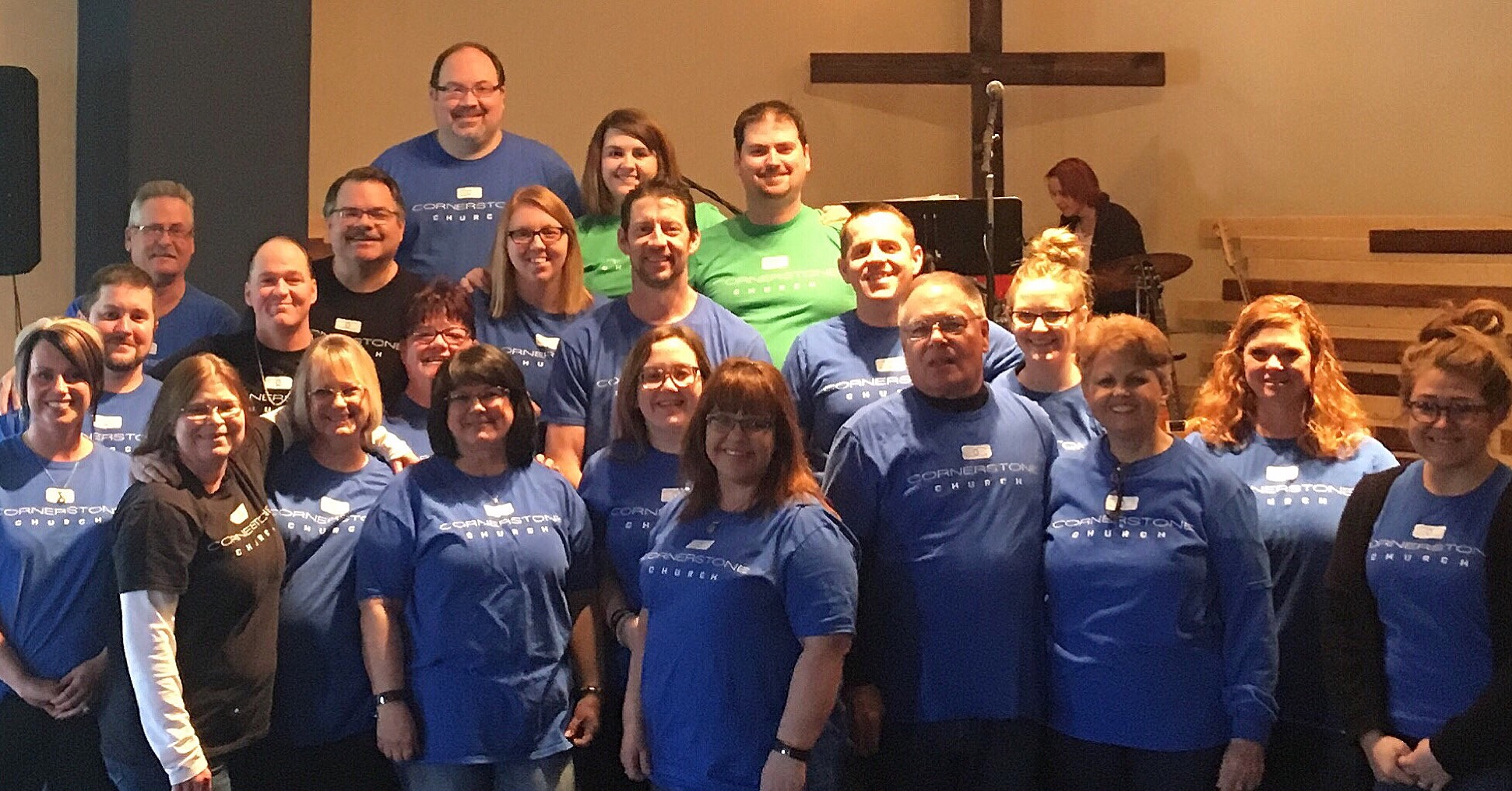 We love our Cornerstone Church Family!